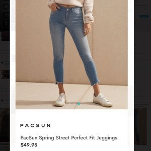 Super Cute Cropped Pacsun Jegging